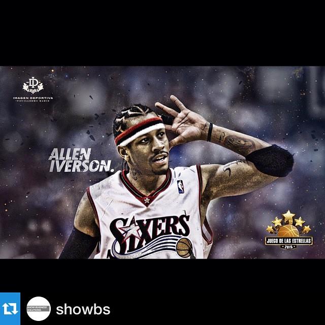 #Repost @showbs with @repostapp.・・・El ex NBA Allen Iverson (@theofficialai3) , estará presente en el Juego de las Estrellas 2015. La cita será los días 13-14 de Mayo en el Estadio Luna Park. #JuegoDeLasEstrellas #Argentina #Basquet #LunaPark