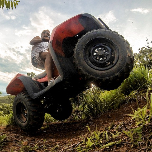 Photo of the Day! ATV hill climbing. Photo by Guilherme Muniz. #GoPro #ATV