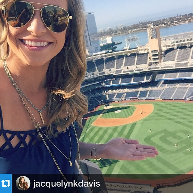 #Repost @jacquelynkdavis.・・・Happy #SDOpeningDay amigos! Love my Duey shades. ❤️⚾️ #Padres2015 #OpeningDaySelfie #hovenvision #SanDiego #AmericasFinestBallpark