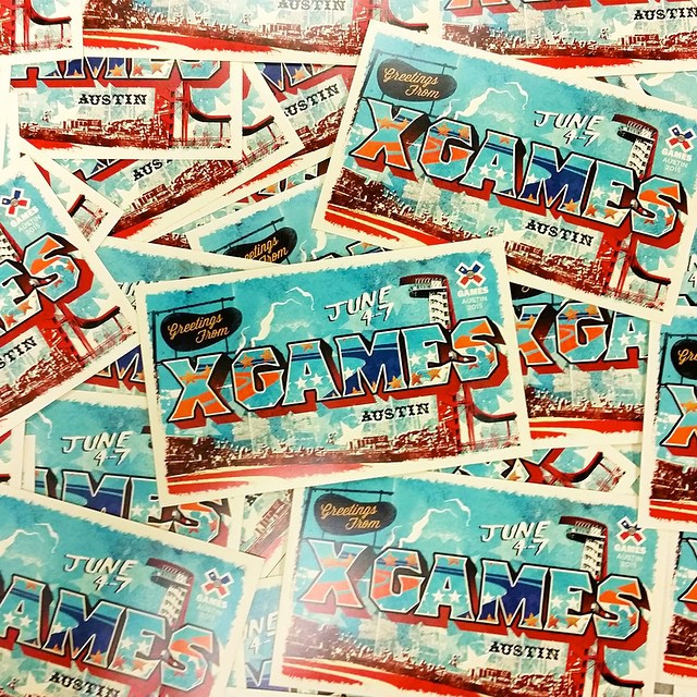 The official 2015 #XGames Austin stickers are now in print!  Make us laugh with a comment below and we'll mail you a stack.