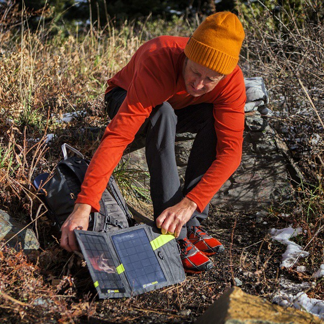 @forrestshearer adjusts his Nomad 7. #GetOutStayOut