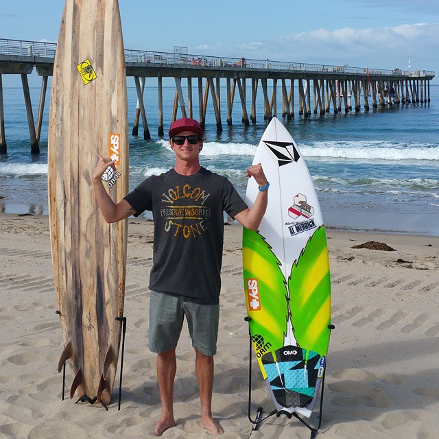We were stoked to meet up with our ambassador Alex Gray @a_gray. Participant Media is making a film about surfers as the new generation of environmental activists, and of course they wanted to talk to Alex. He's standing with his @cisurfboards...