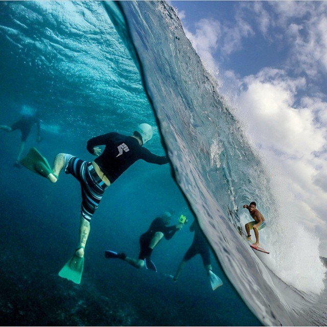 We couldn't help but repost! Thanks for the sick shot activist @sf_photos_hawaii!