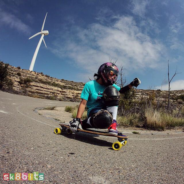 Go to longboardgirlscrew.com and check LGC USA ambassador @possala enjoying some downhill in Georgia.  Have a rad weekend family!  @sk8bits photo  #longboardgirlscrew #girlswhoshred #womensupportingwomen #possalawang #USA #Georgia