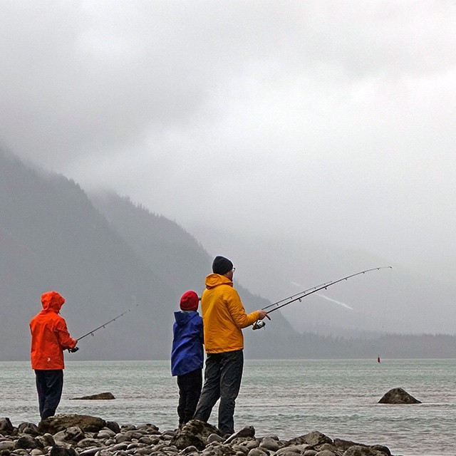 Chilkoot Lake is tucked away in a valley surrounded by glaciers making the water clear, cold, and the perfect grounds for the sockeye run. As many as 60k salmon will take refuge in her waters to spawn the next generation of worthy swimmers and the...