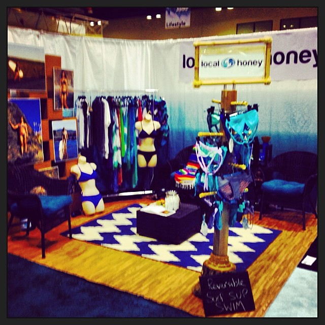 It's never to early for a #localhoney #margarita Come by our booth #2025 and say Hi! See #spring2014 and grab a drink