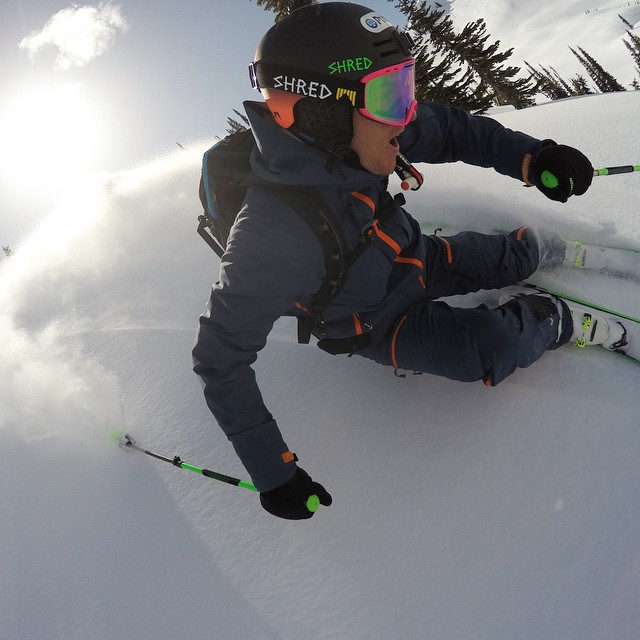 After a busy year competing on the World Cup @ted_ligety enjoys some fresh pow at GoPro Snow Athlete Camp | British Columbia #GoPro