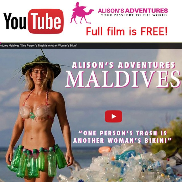After a year in the making, Alison's Adventures Maldives short film is officially launched! I returned to the island where I survived Discovery Channel's Naked and Afraid, and created a comedic short about a serious global issue. Link in profile or...