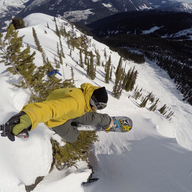@danbrisse finding a method to the madness at GoPro Snow Athlete Camp #GoPro #CMHHeli