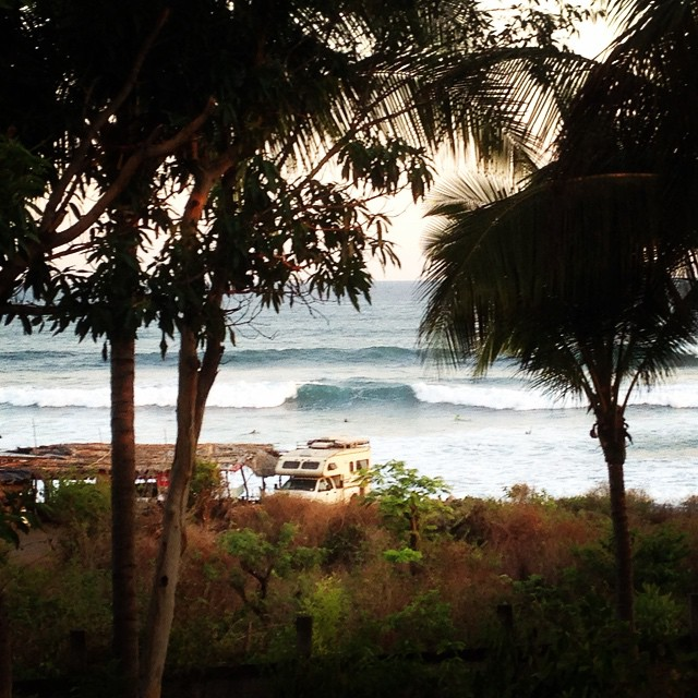 #wavetribe  in el salvador. Firing in front of hotel #lstoked