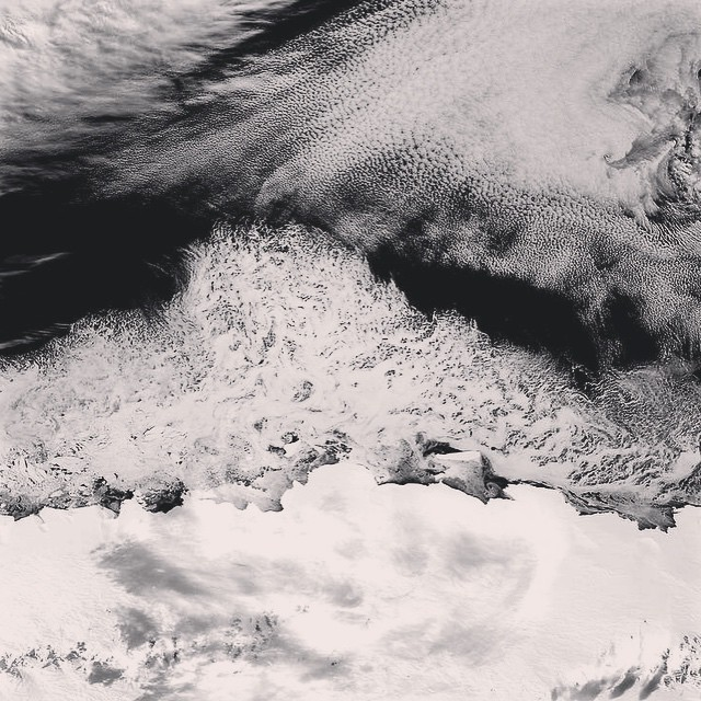Antarctic ice from above PC @nasa #geoprene #ckth #lovematuse