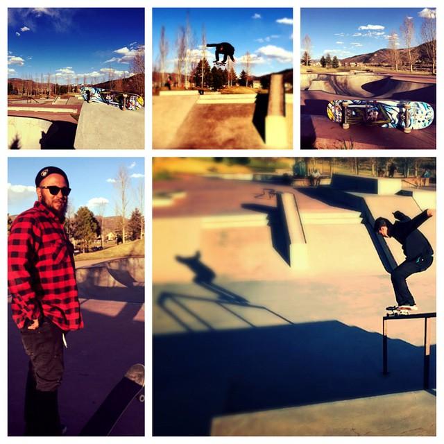 #picstitch #coloradoskateboards  Colorado Skateboards shreds #JorgeHernandez #RickRodriguez #goodpeople