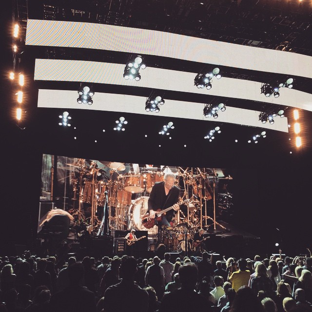 Buen concierto de Fleetwood Mac en Los Angeles. #fleetwoodmac #chadsmith #losangeles