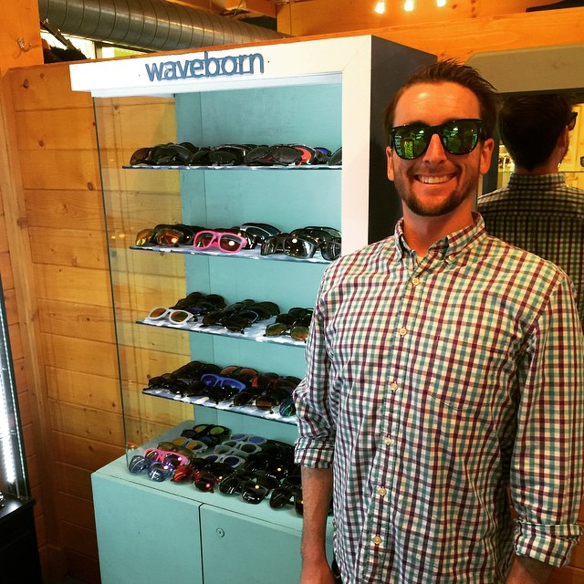 Visit @liquidboardshop for all you @waveborn needs this summer in Rehobeth, DE #waveborn #givesight #findthesun #sunglasses #liquid