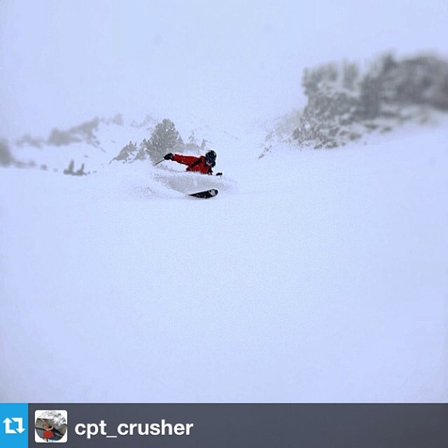 #Repost from @cpt_crusher with a  shot in his #xride boots this morning from Flagstaff Mountain in Little Cottonwood Canyon
