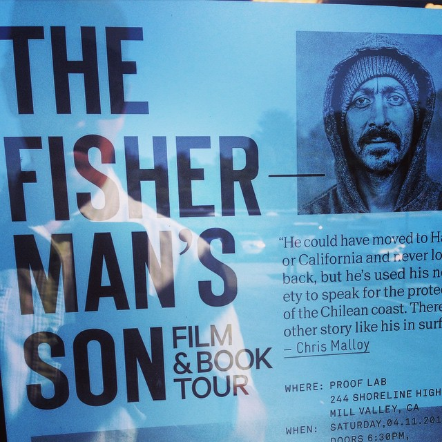 "The coolest flyer on the wall at @prooflab is this one... So get there by 6:30 pm tonight to catch the latest flick by the ever prolific #ChrisMalloy ---- as he brings to light the story of Ramon Navarro (aka - the ""Fishermans Son""), who pioneered..."