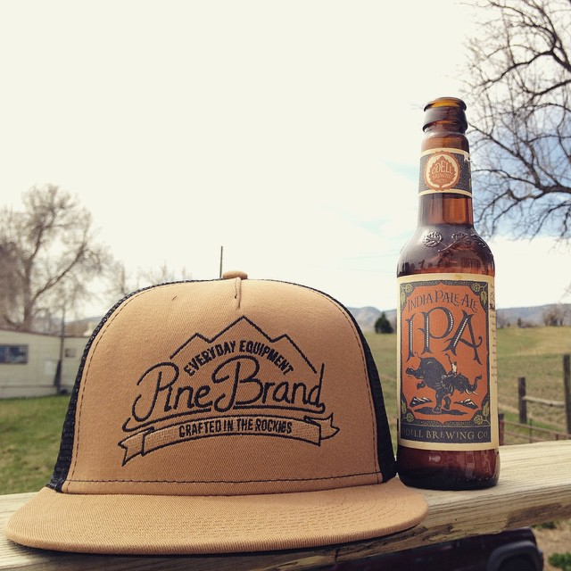 Hoppy Saturday all! We hope you're enjoying the sunshine as much as we are! // @odellbrewing #everydayequipment #pinebrand