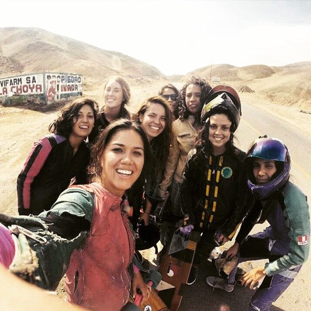 LGC Peru, Colombia, Chile & Argentina riding together in Quilmaná, Peru! Go to longboardgirlscrew.com for the edit. YEAH girls! Hope you're all having a rad weekend!  #longboardgirlscrew #girlswhoshred #womensupportingwomen #peru #colombia #argentina...
