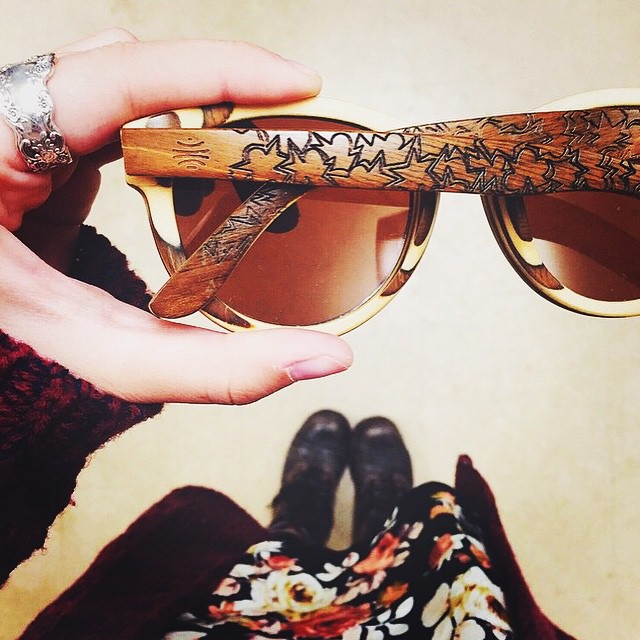 Team artist @lauren.salgado with her latest design engraved on our sunglasses. This and more coming soon to boskyoptics.com #sun #instagood #artworkoftheday #graphicart #style #love #whatwoodyoudraw