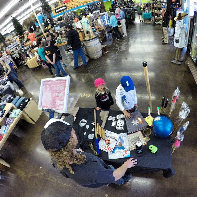 "Thanks to all the good folks who came out and said hi today at Element Outfitters' ""Idaho Day! It was also great to connect with some other local Idaho brands! There is a lot of great stuff comin' outa this ol' state... #TribeUP #IdahoDay!  Photo:..."