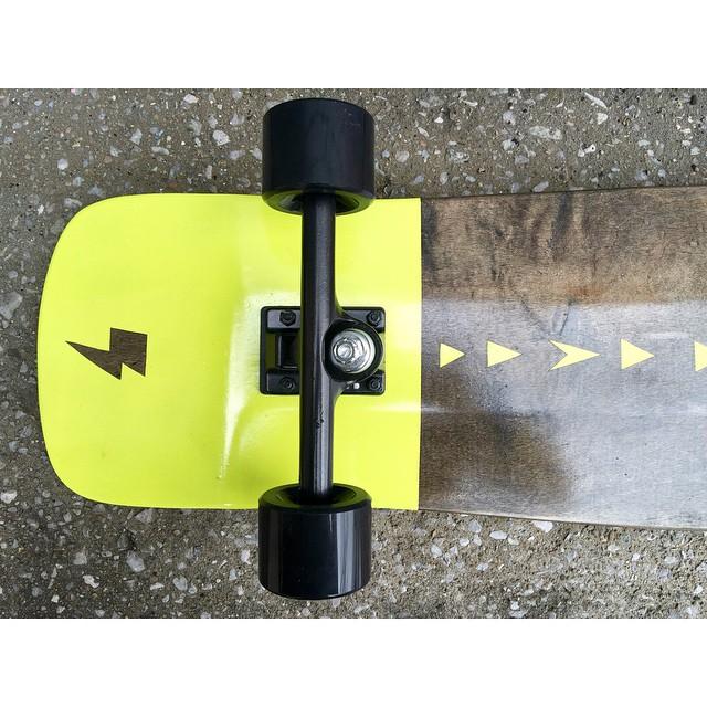 Treat yo self. #skate #handmadeskateboard #Handmade #Skateboard #Nashville