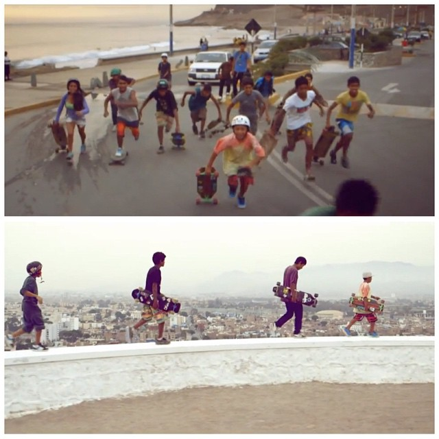 Peruvian band Kanaku Y El Tigre just released their new music video featuring kids from Peruvian NGO Alto Peru who help kids from unprivileged neighborhoods through surfing, skating, dancing & other actuvities. Check it out in longboardgirlscrew.com...
