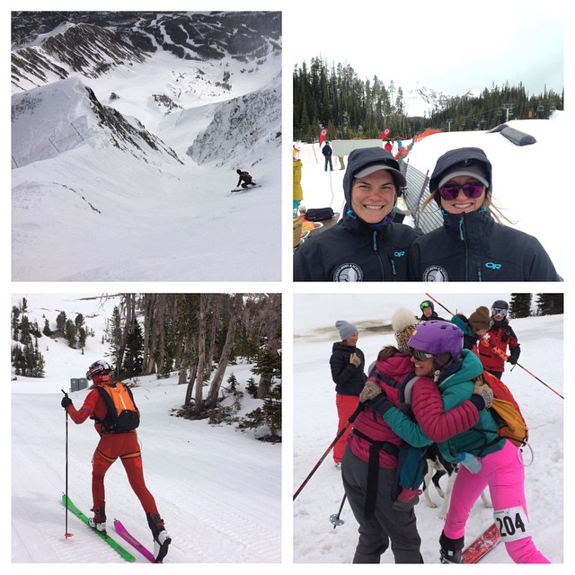 Yesterday we volunteered for the inaugural #shedhornskimo race at @bigskyresort, staffing the aid stations. The racers, some of whom are on the US Ski Team, climbed and skied more than 9,000 vertical feet over 16 miles on Lone Mountain. We're excited...