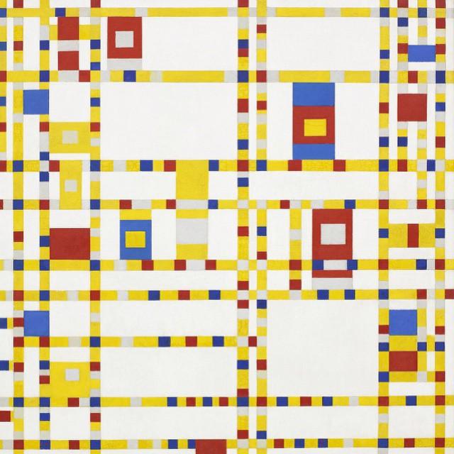 art + function, Piet Mondrian #lovematuse #ckth