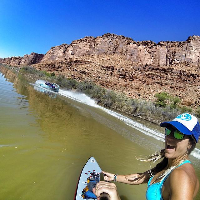 Share the river. Share the fun. @moabjett #moabjett