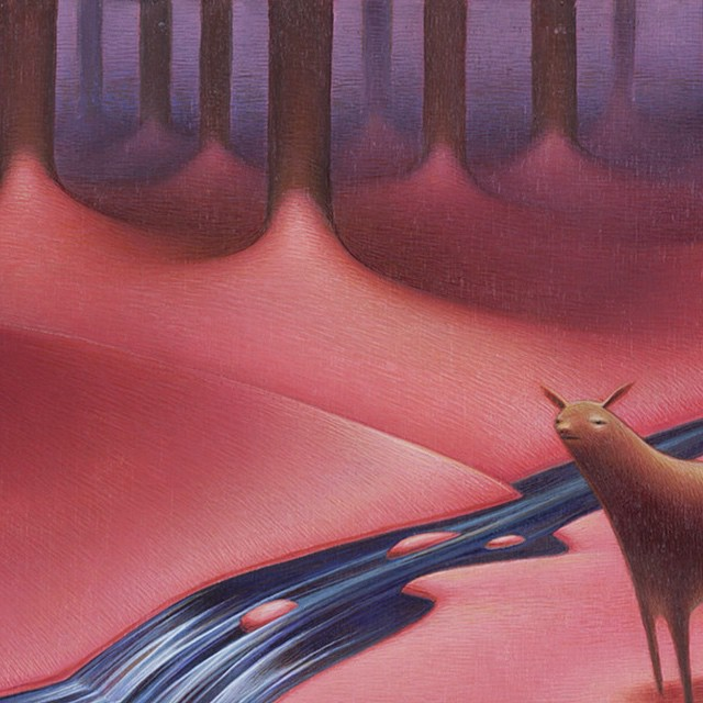 """""""Deer Stream"""" by @slenhardt 