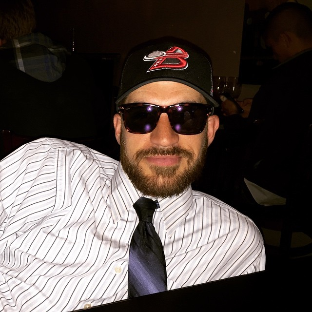 DC Breeze Captain @jonpressimone looks stylish and professional in #waveborn #campfire #marina #sunglasses