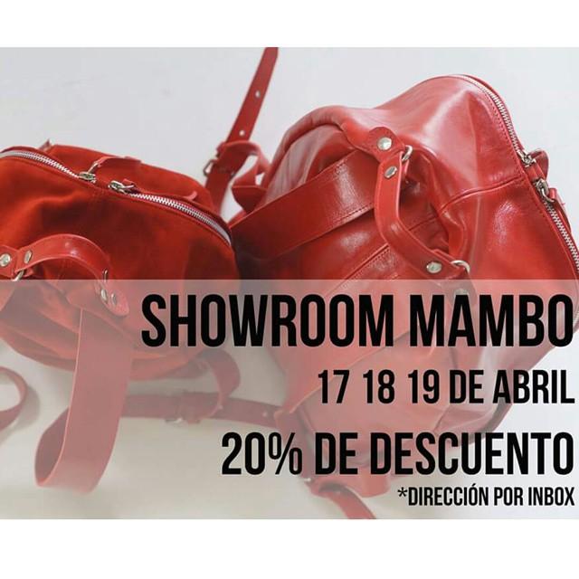 Showroom 17, 18, 19  de abril 20% DE DESCUENTO *Consultar dirección y horarios por inbox a facebook.