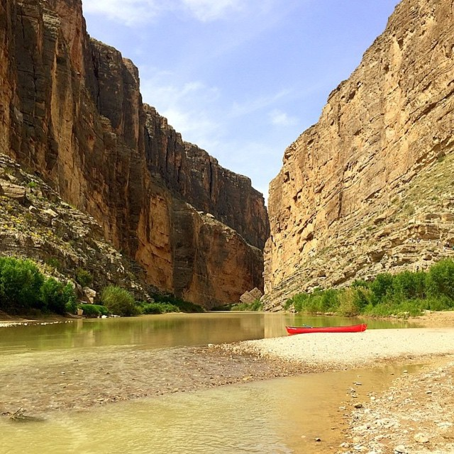 Hope you all had an epic weekend enjoying our #radparks! Great photo by @onegirlsadvantures in the Rio Grande, Big Bend National Park!b#parksproject