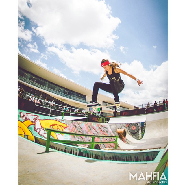 Three-time #XGames gold medalist @leticiabufoni turned 22 years old today. (