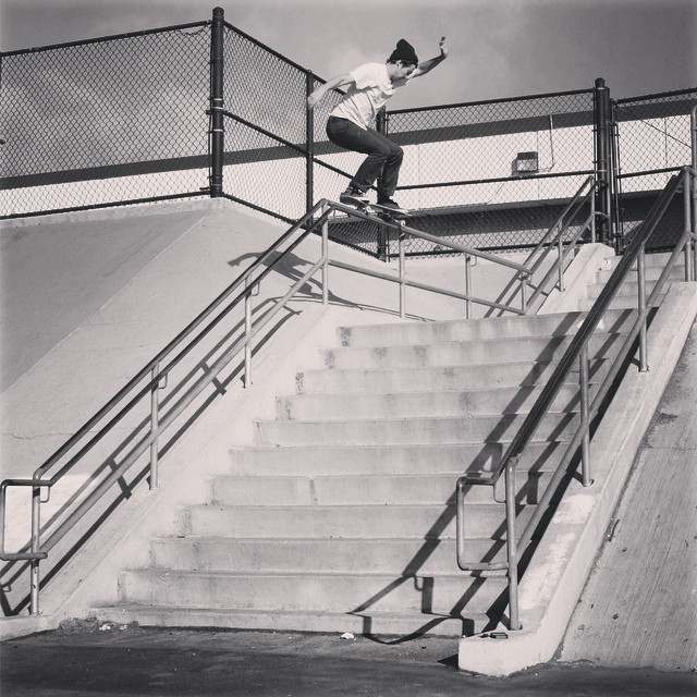 Our boy @Waylonhendricks with a 5050 pop over. No town ins or bungee's, just leg power