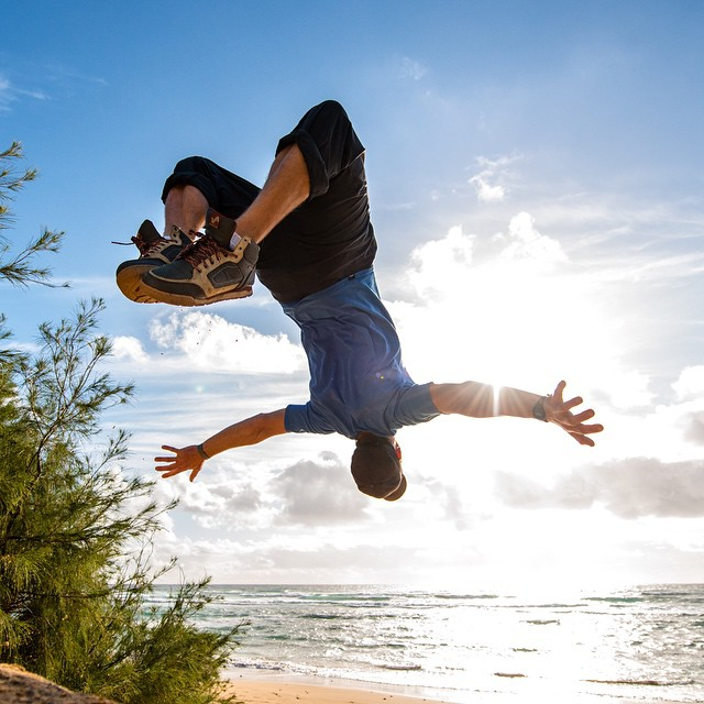 @handsomerobinson is putting the new Clydes through the paces. Hawaii looks like the place to be! Thanks for the shot @travisburkephotography!