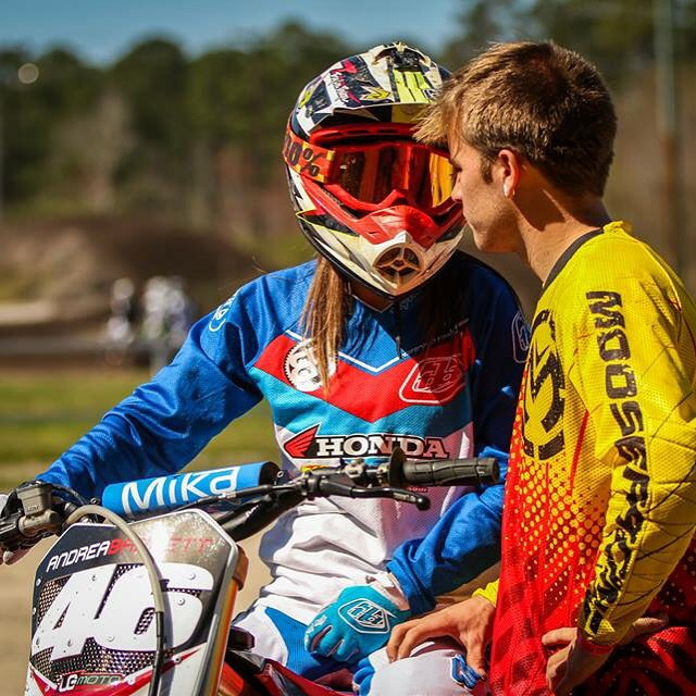 I've been with this awesome lady for 2 years now! Without a doubt the best two years of my life! I love you!! @whatthefett  #allmine #moto #couple #coupleswhoridetogetherstaytogether @officialmooseracing @troyleedesigns @ride100percent @mikametals
