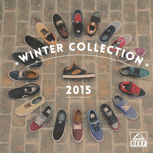 Reef Argentina presenta su nueva colección de calzado de invierno 2015 -  Vení a conocer toda la colección a: #Unicenter #Marpla #ReefMDP #AbastoShopping #AltoAvellaneda #ReefStores #PlazaOeste #justpassingthrough