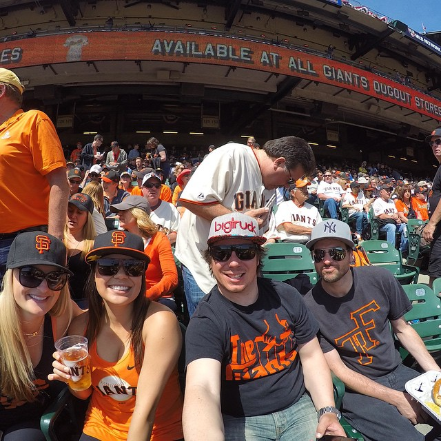 Who is ready for the start of baseball season? @sfchronicle @sfgiants #gopro @gopro