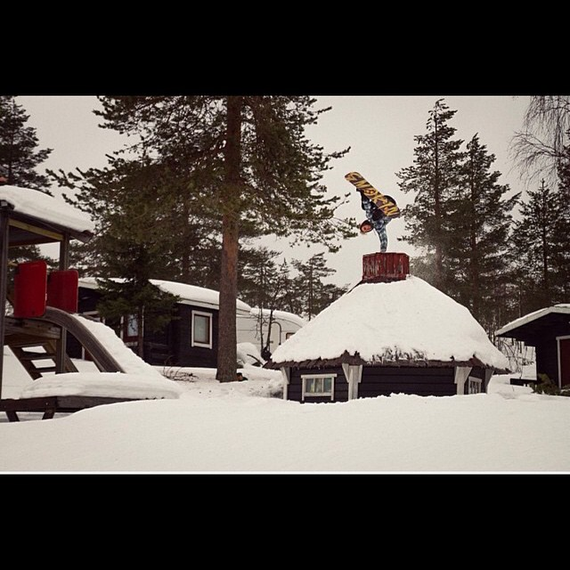 @zakkezakke with a building plant over in #Finland , while filming with @kbrcrew