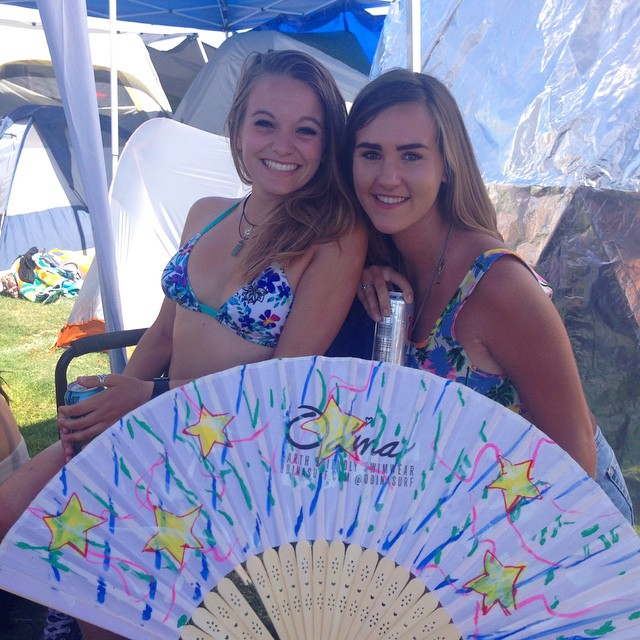 What a great weekend!! @yotorie @Elizabethholden and our #Coachella family! #HappyCoachella post your #Odinafan pics! @abikiniaday @anastasiaashley -- Our Camira top in kahlia! Shop.odinasurf.com/p/camira-top