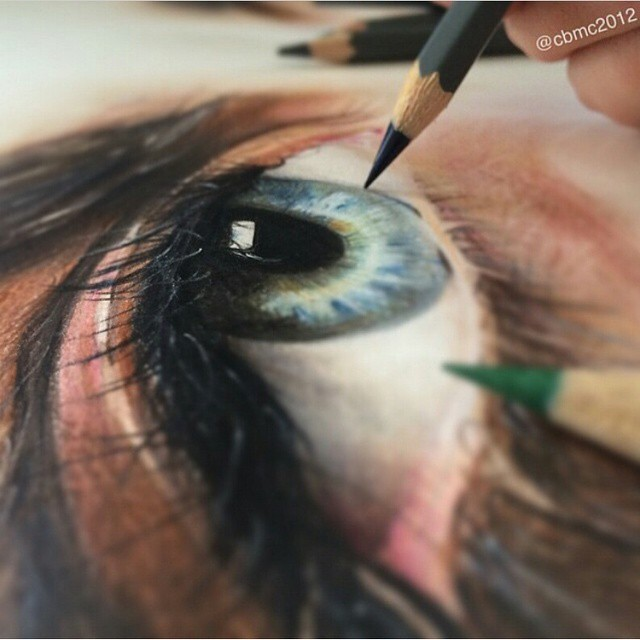 Colored pencil drawing by @cbmc2012