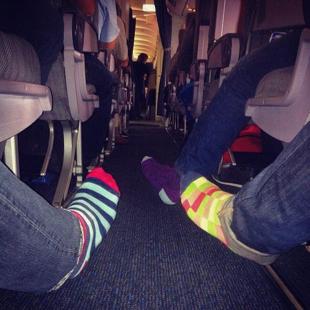 Flying with #style #socks #MediasConOnda Modelos: #Mallorca #Sitges #Toledo encontralas en tiendasuarez.com