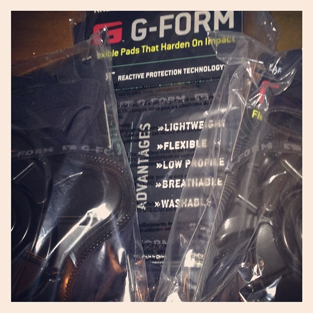 Stocking up on @gformprotects for the PCA Store.  People are starting to realize how well they pair with our Crash Pants.... Say No to #roadrash #hitandroll