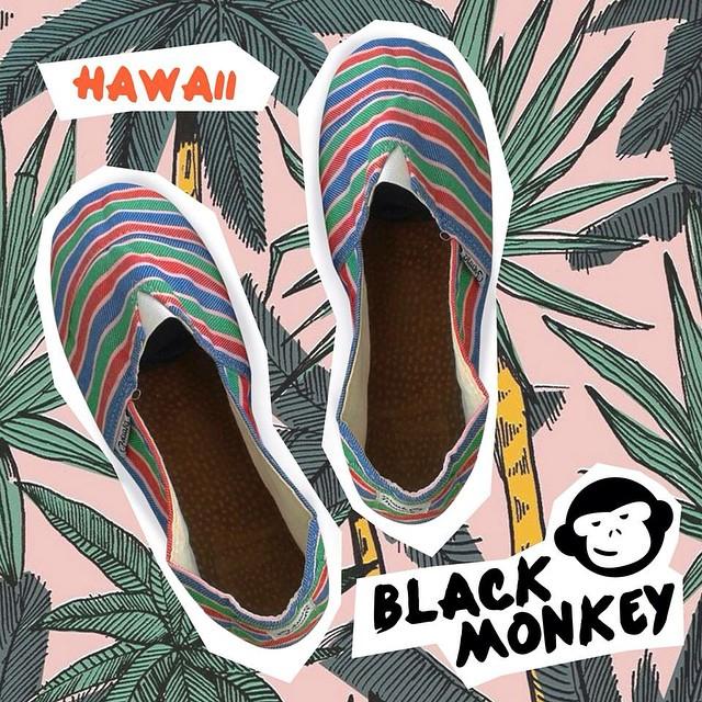 Una muy buena manera de ponerle onda a un día gris! @blackmonkeystore mod Hawaii