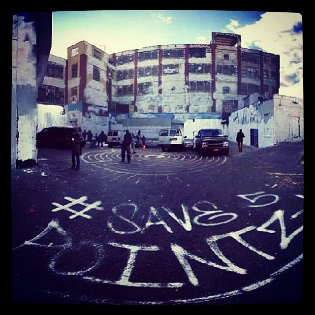 5 Pointz was painted over a few nights ago... WTF? #save5pointz #5pointz @save5pointz repost from @banksynyc