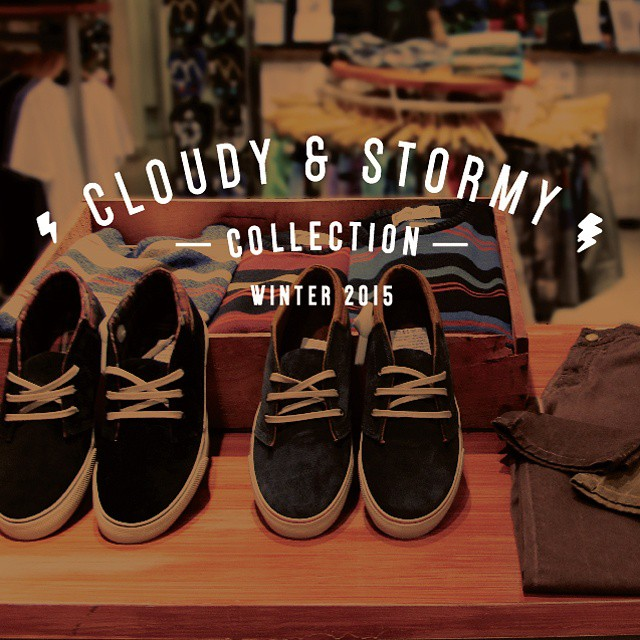 CLOUDY AND STORMY COLLECTION -  Visitanos en nuestro local de #PlazaOeste y conocé la nueva temporada de invierno! #ReefArgentina #ReefStores