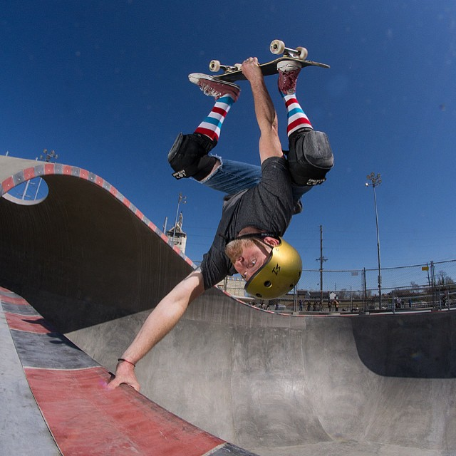 @jgainous at the new #louisvilleskatepark