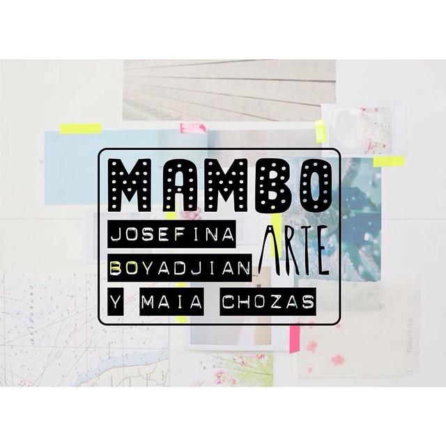 Este viernes @mambobackpacks se fusiona con el arte de las maravillosas Jose Boyadjian y @maiachozas #mambomochilas #mambo #mambobackpacks #mambearte