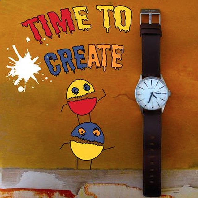 Digging this reminder from ‏@WYATTJN (@Mr_WyattNorth over on Twitter) to set aside #TimeToCreate.  Get featured by showing us how you #nixon. Instagram or Tweet your photos to join the conversation.